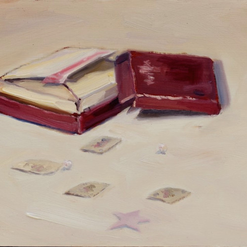 Rainy Day, 2012, Oil on board, 30x30cm