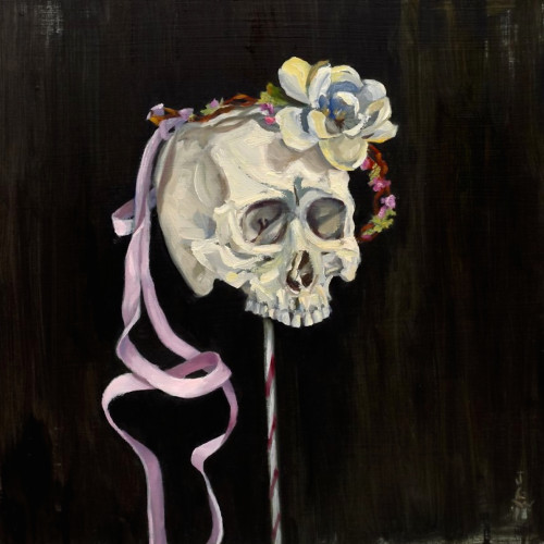 May Mourning, 2011, Oil on board, 40x40cm