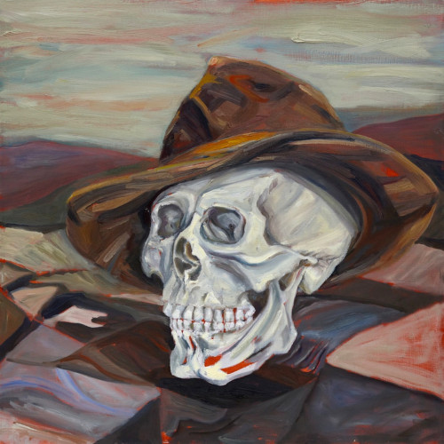 The Highway Man, 2011, Oil on board, 60x60cm
