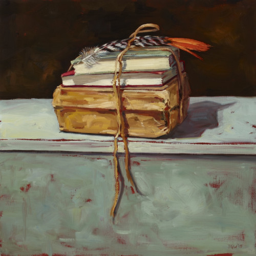 Things As They Are, I, 2010, Oil on board, 60x60cm