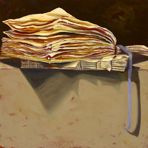 Things As They Are, V, 2010, Oil on board, 60x60cm