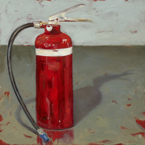 Things As They Are, XVIII, 2009, Oil on board, 40x40cm