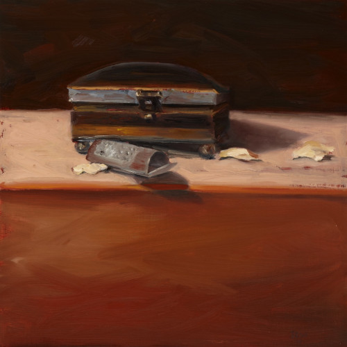Things As They Are, XI, 2010, Oil on board, 30x30cm
