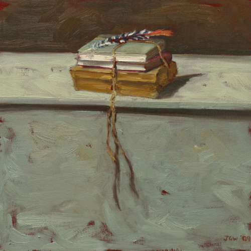 Things As They Are, XIV, 2009, Oil on board, 30x30cm