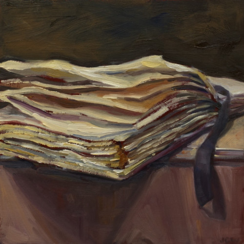Things As They Are, XIII, 2009, Oil on board, 30x30cm