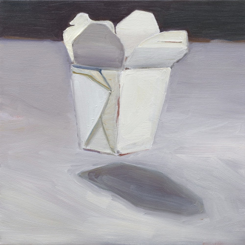Dead Carton Bounce, 2008, Oil on canvas, 30x30cm