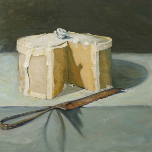 Things As They Are, XXVII, Oil on board, 60x60cm