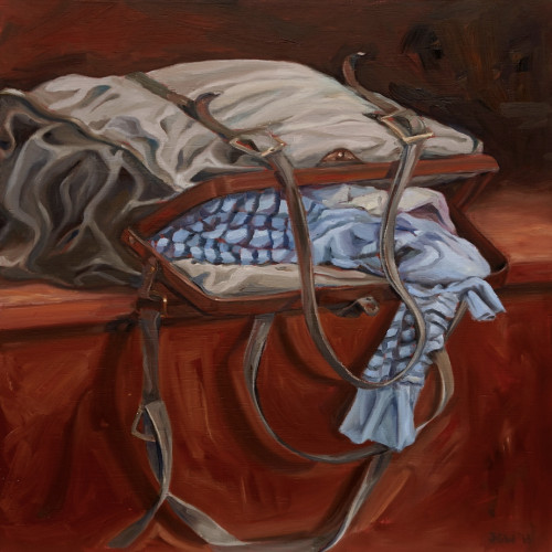 Trousseau, 2012, Oil on board, 60x60cm