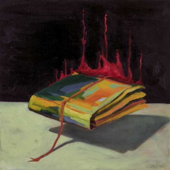 File Folder, Act II, 2008, Oil on canvas, 60x40cm
