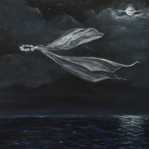 Into the Sea, the Moon, 2015, Oil on canvas, 66cm x 46cm